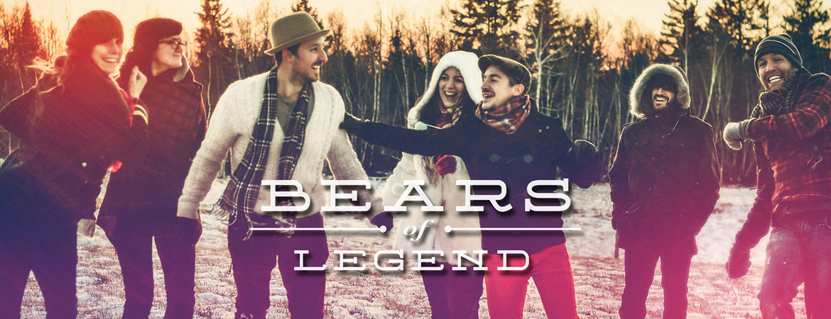 Spectacle Bears of legend: A Million Lives présenté au Carré 150  de Victoriaville