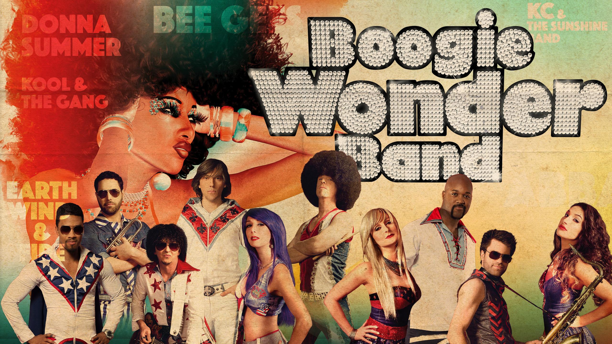 Spectacle Boogie Wonder Band: Disco Party! Un party d'Halloween qui décoiffe! présenté au Carré 150  de Victoriaville