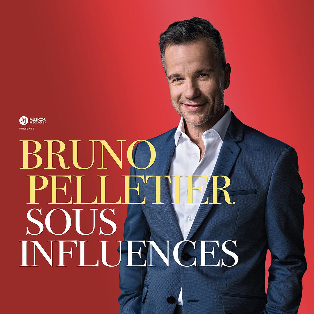 Spectacle Bruno Pelletier: Sous influences présenté au Carré 150  de Victoriaville