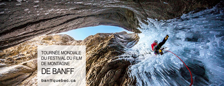 Spectacle Tournée mondiale du Festival du film de montagne de Banff: The North Face et Espaces présenté au Carré 150  de Victoriaville