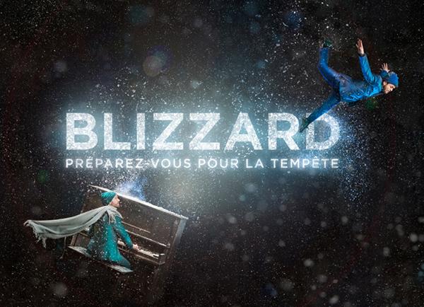 Spectacle Flip Fabrique: Blizzard présenté au Carré 150  de Victoriaville