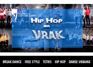Spectacle L'École de danse L'Entre-Choc: Danse Hip-Hop en 'VRAK' présenté au Carré 150  de Victoriaville