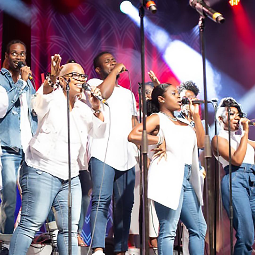 Spectacle Jireh Gospel Choir: En spectacle présenté au Carré 150  de Victoriaville