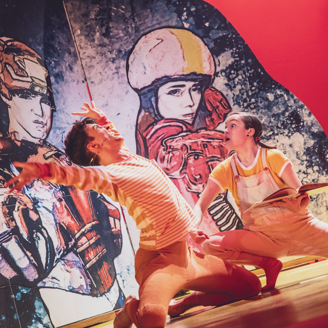 Spectacle Le trésor: PPS Danse présenté au Carré 150  de Victoriaville