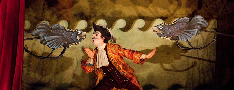 Spectacle Münchhausen - Les machineries de l'imaginaire: Une production du Théâtre Tout à Trac présenté au Carré 150  de Victoriaville