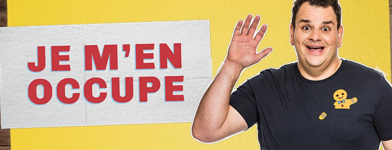 Spectacle Philippe Laprise: Je m'en occupe (En rodage) présenté au Carré 150  de Victoriaville
