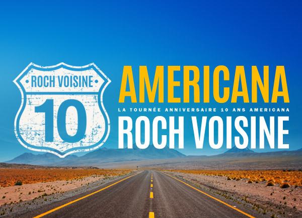 Spectacle Roch Voisine: La tournée anniversaire, 10 ans Americana présenté au Carré 150  de Victoriaville