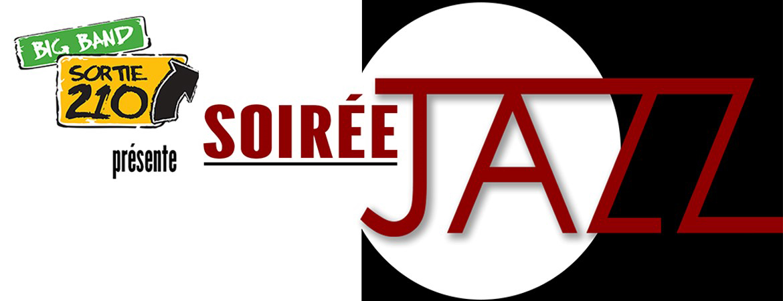 Spectacle Sortie 210: Soirée jazz avec Big Band de l'Univ.de Sherbrooke présenté au Carré 150  de Victoriaville
