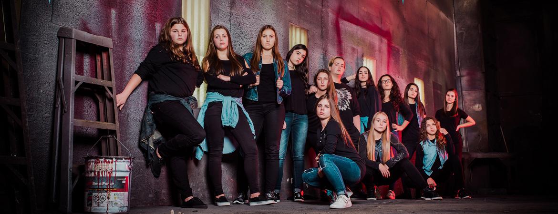 Spectacle L'École de danse L'Entre-Choc: 100% Hip-Hop : The Game of Potter présenté au Carré 150  de Victoriaville