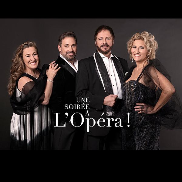 Spectacle Une soirée à l'opéra: Gloire, amour et tragédie présenté au Carré 150  de Victoriaville