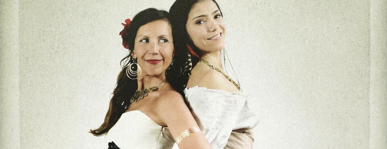 Spectacle Bandidas: avec Bïa et Mamselle Ruiz  présenté au Carré 150  de Victoriaville