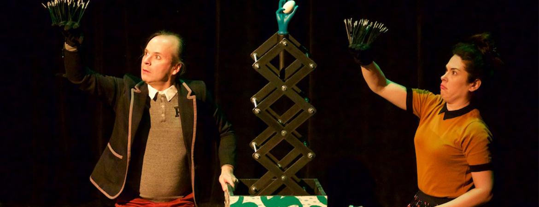 Spectacle Histoires à plumes et à poils: Le Petit Théâtre de Sherbrooke présenté au Carré 150  de Victoriaville