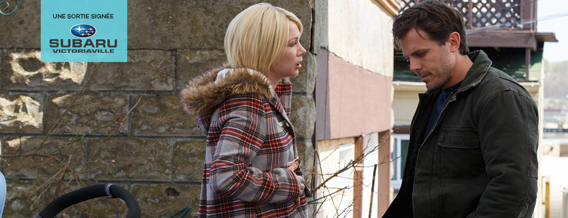Spectacle Manchester by the sea: Réalisateur : Kenneth Lonergan  présenté au Carré 150  de Victoriaville