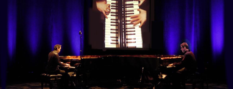 Spectacle Piano Caméléons: Matt Herskowitz et John Roney présenté au Carré 150  de Victoriaville